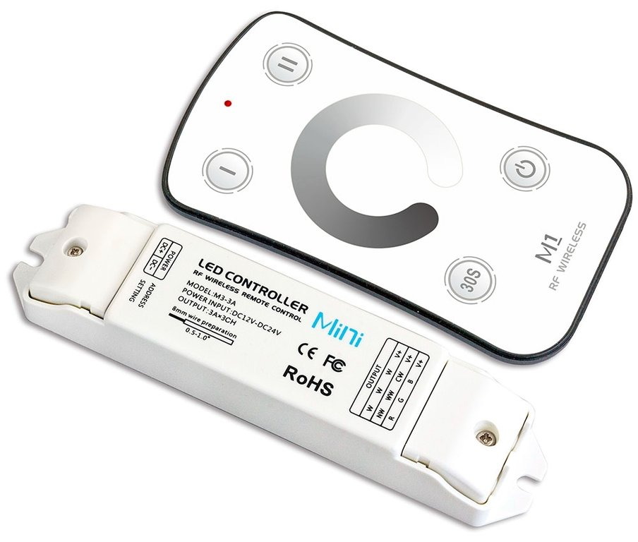 M1 M3 3a Led Dimmer Controller Funk Set 3x3a Online Kaufen