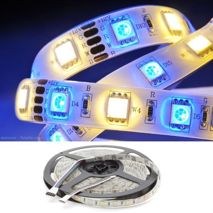 Led Flex Stripe 5m Rgbw Rgb Ww 5050 Smd 60 Leds M