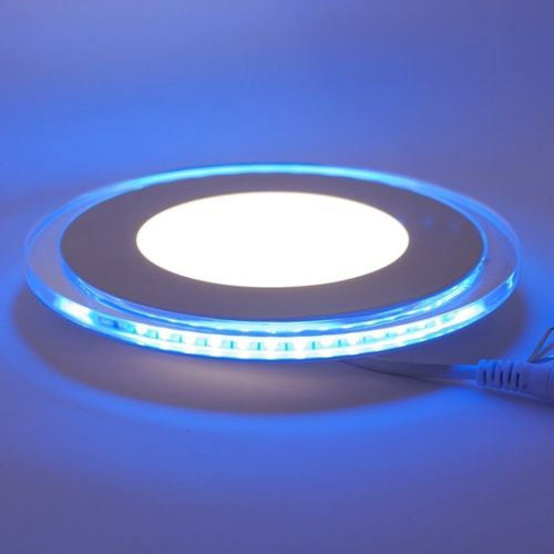 LED Downlight blau-beleuchtet, 20W,