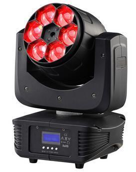 Bee Eyes LED Moving Head 6*12W,4in1