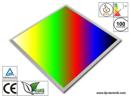 LED light panel 620*620 RGBW-WW und CCT