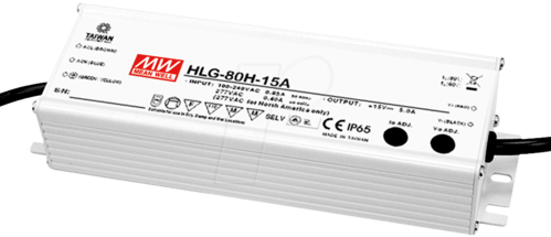 Meanwell HLG-80H-30A Netzteil 30V / 80W constant voltage