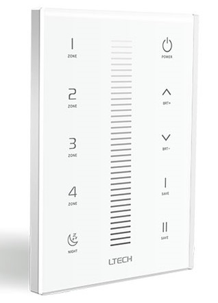 UX5 Dimming Touch Panel Controller