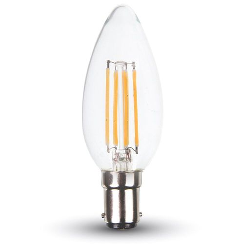 LED Bulb - 4W Filament E14 Kerze warmweiss, dimmbar