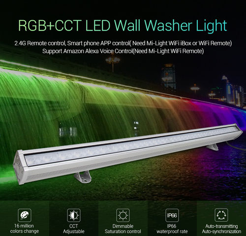 RGB+CCT LED Wall Washer Light