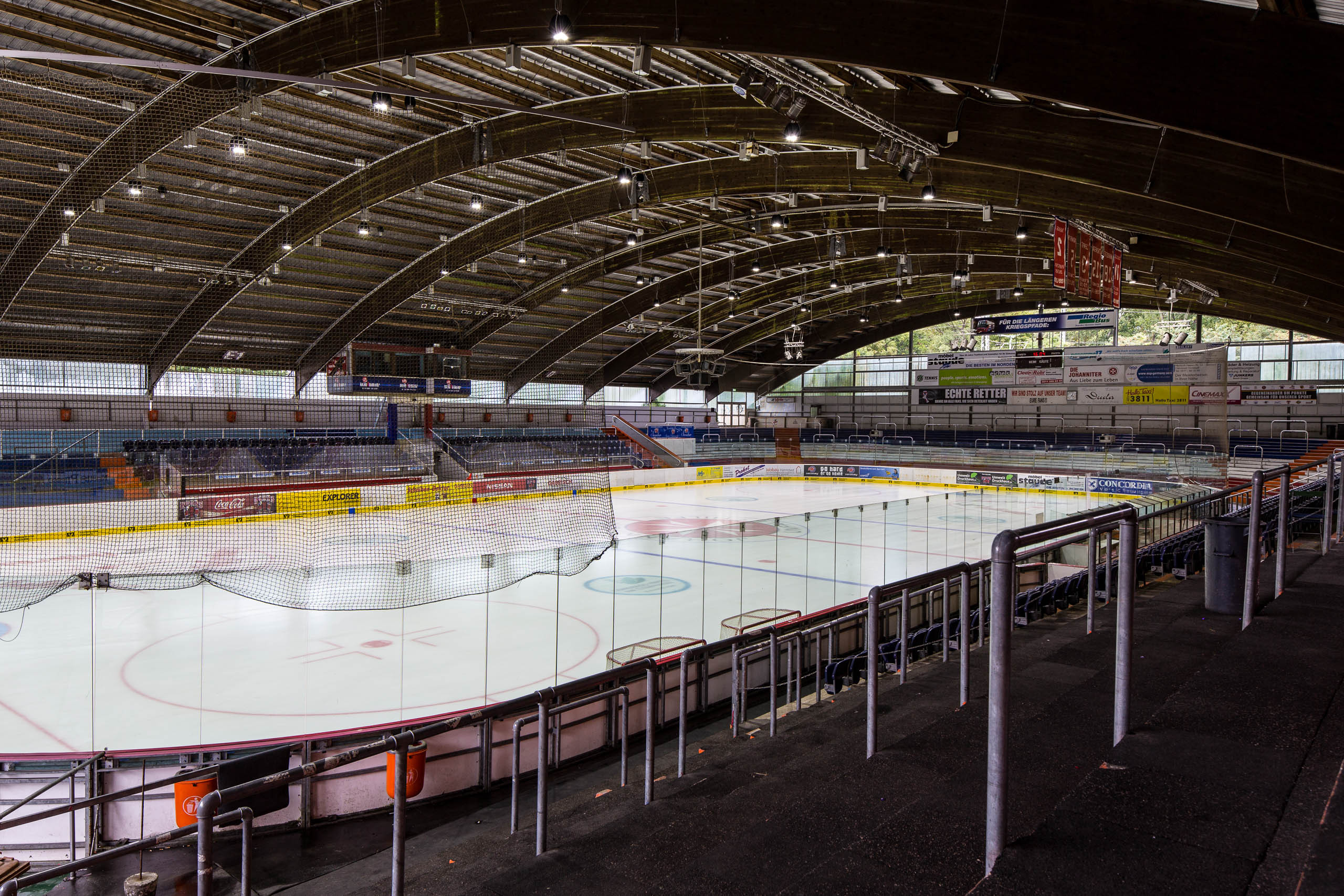 Eissporthalle Hannover neue LED Beleuchtung